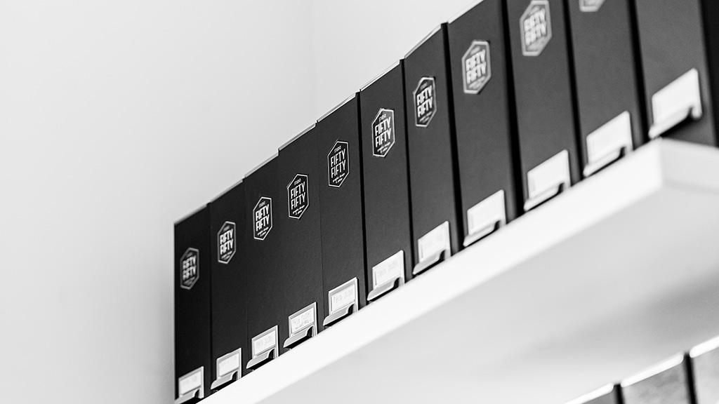 studio fiftyfifty agence de graphisme et de communication basée à bruxelles