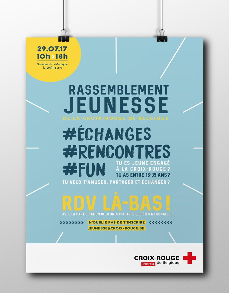 croix-rouge de belgique, studio fiftyfifty, fiftyfifty, graphisme, graphic design, agence de graphisme, agence de communication