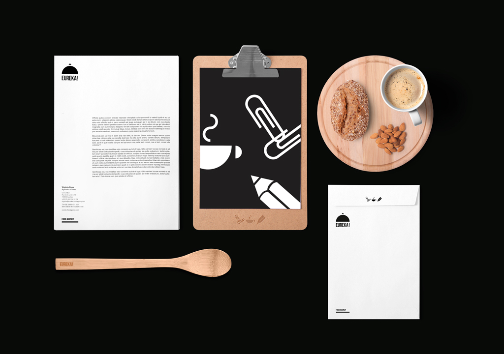 Eureka food agency, studio fiftyfifty, agence de graphisme et de communication bruxelles, communication agency brussels, graphic design, food agency