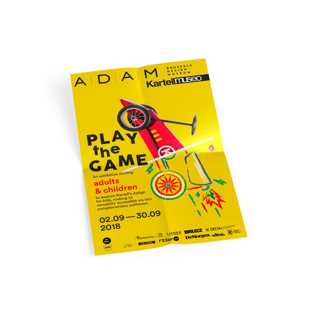 graphic design, print, stationary, photography pour ADAM brussels design museum par studio fiftyfifty