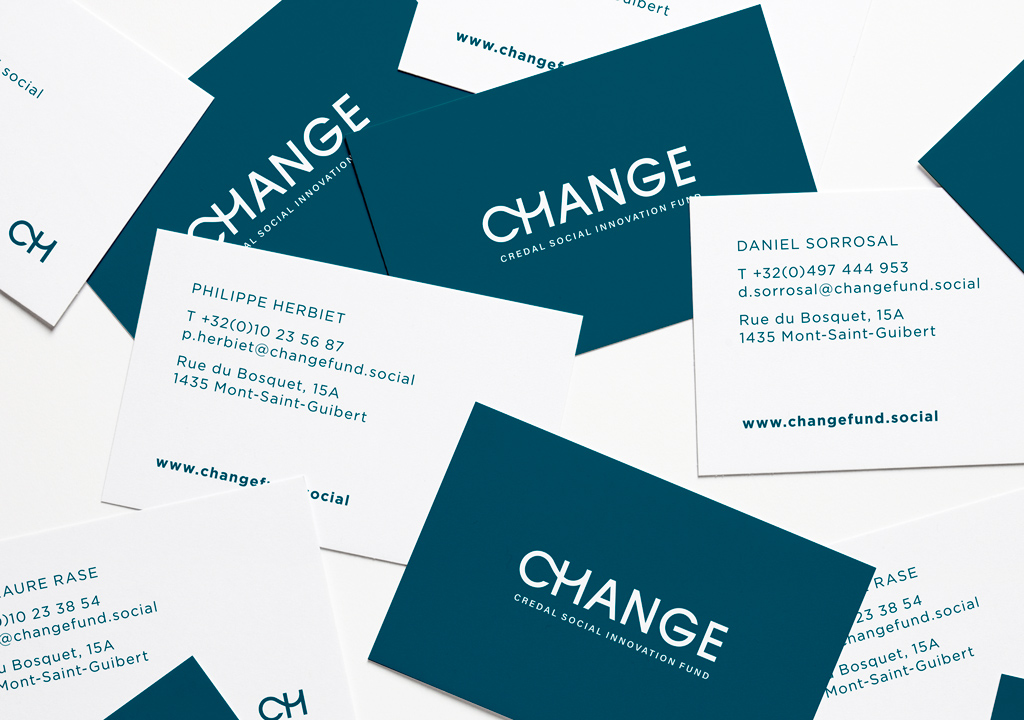 change credal brand identity social investment fund by studio fiftyfifty